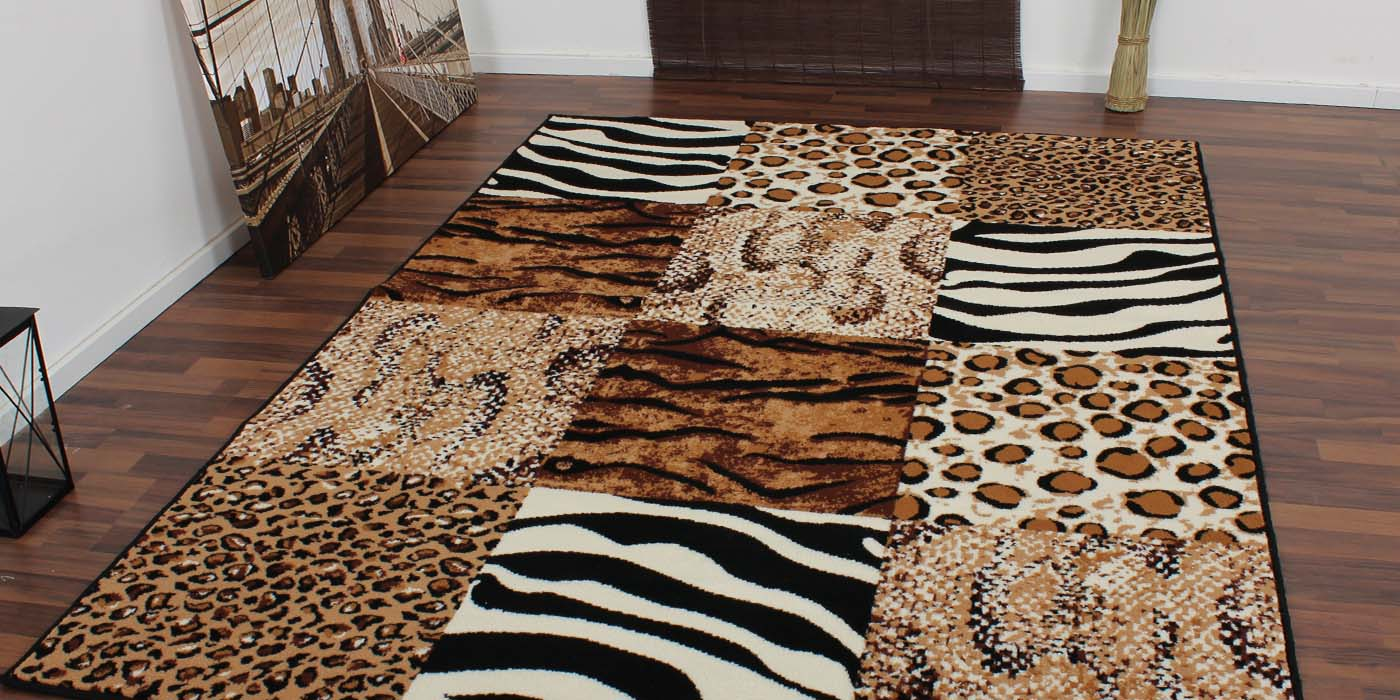 afrika animal print fell guru kolonialstil leopard teppich teppichguru teppiche zebra 5. Black Bedroom Furniture Sets. Home Design Ideas